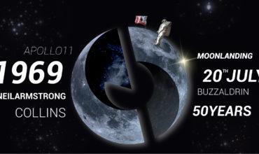 20 luglio 1969 > 20 luglio 2019   50° Anniversario dello Sbarco sulla Luna