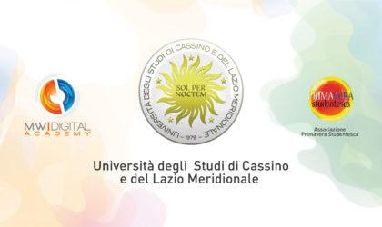 MW Digital Academy collabora con l'Università degli Studi di Cassino e del Lazio Meridionale
