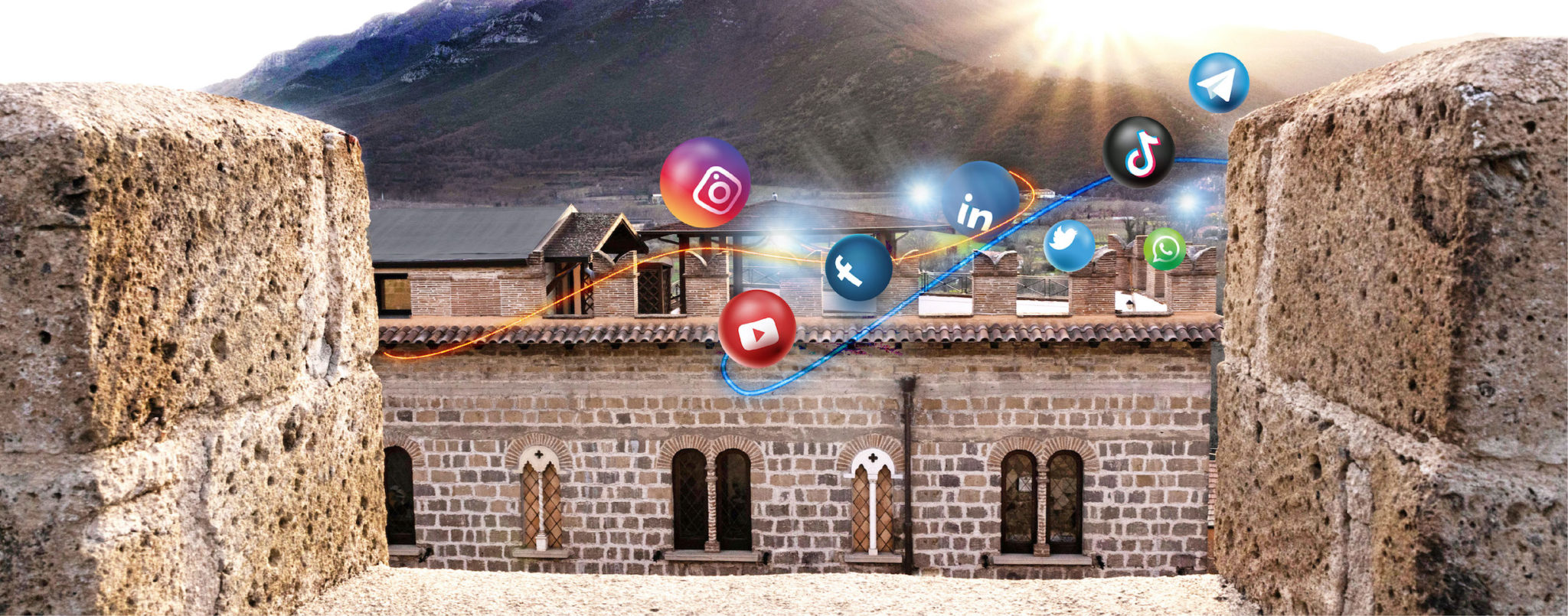Banner Home gestione social